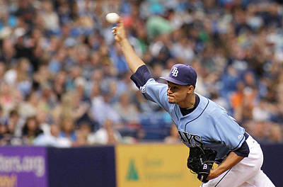 Photograph - Seattle Mariners V Tampa Bay Rays by Brian Blanco