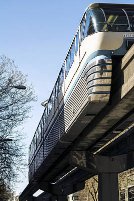 Monorail Photograph - Seattle Monorail by Michael DeMello