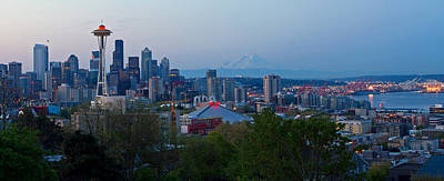 Photograph - Seattle Morning by Shari Sommerfeld