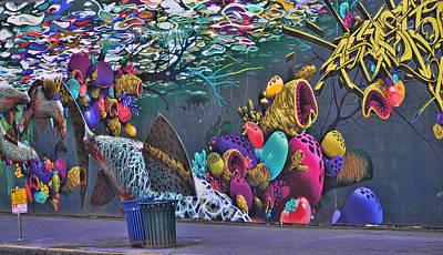 Photograph - Seattle Mural 1 by Allen Beatty