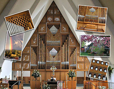 Photograph - Seattle Organ  by Jenny Setchell