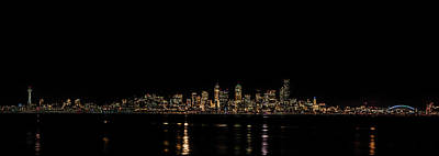 Seattle Panorama Art Print by Brian Xavier