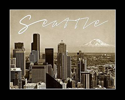 Photograph - Seattle Poster by Patricia Strand