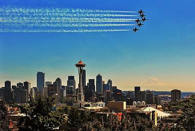 Photograph - Seattle Seafair by Benjamin Yeager