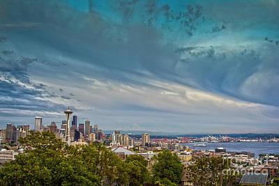 Photograph - Seattle Skies by Sonya Lang