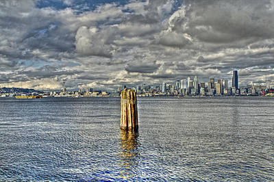 Photograph - Seattle Skyline And Cityscape by SC Heffner