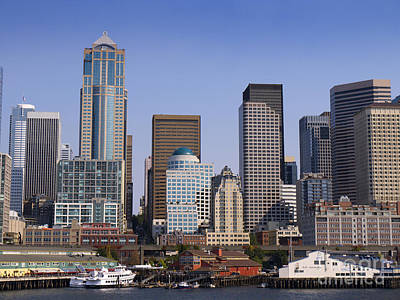 Photograph - Seattle Skyline by Brenda Kean