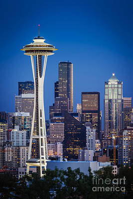 Photograph - Seattle Skyline by Brian Jannsen