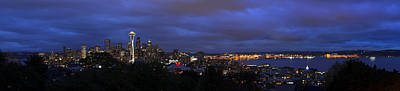 Photograph - Seattle Skyline by Dustin  LeFevre