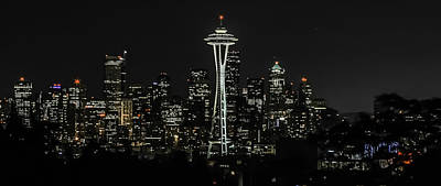 Photograph - Seattle Skyline From Kerry Park by CarolLMiller Photography