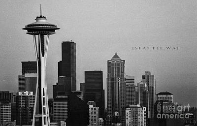 Photograph - Seattle Skyline by JR Photography