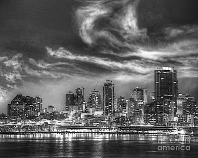 Photograph - Seattle Skyline by Kate McKenna