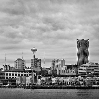 Photograph - Seattle Skyline by Keith Dotson