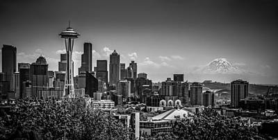 Photograph - Seattle Skyline  by TK Goforth