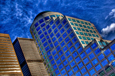 Landmarks Photograph - Seattle Skyscrapers by David Patterson