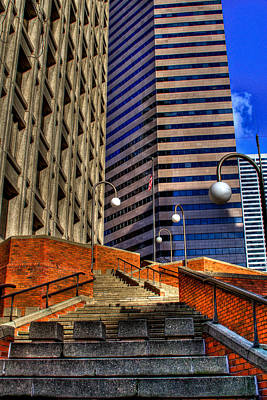 Photograph - Seattle Skyscrapers IIi by David Patterson
