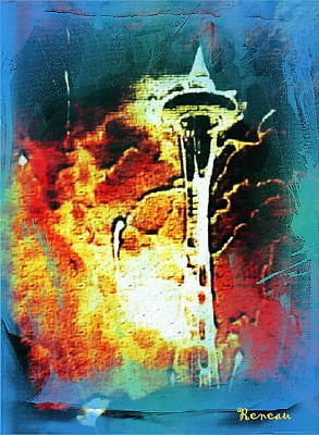 Photograph - Seattle Space Needle 2 by Sadie Reneau