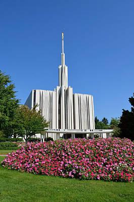 Photograph - Seattle Temple by Shanna Hyatt