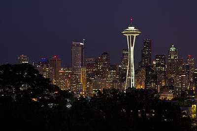 Photograph - Seattle by Teresa Hunt