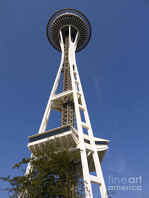 Photograph - Seattle Tower by Brenda Kean