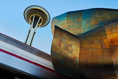 Seattle Trifecta Art Print by Thorsten Scheuermann
