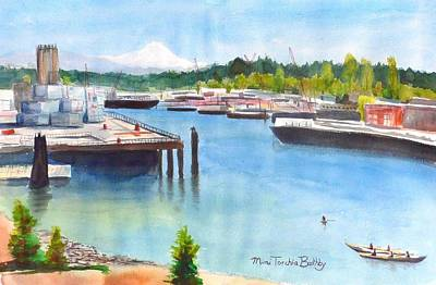 Painting - Seattle View by Mimi Boothby