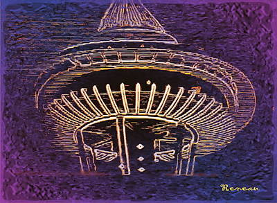 Photograph - Seattle Wa Space Needle 3 by Sadie Reneau