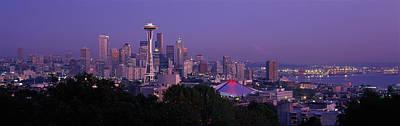 Seattle Wa Usa Art Print by Panoramic Images