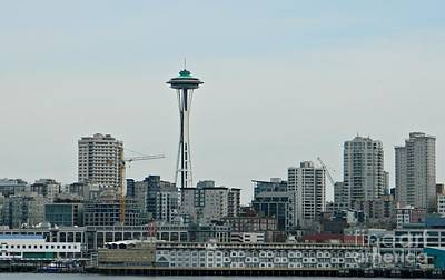 Neurotic Images Photograph - Seattle Washington by Chalet Roome-Rigdon