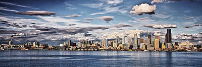 Seattle Washington - Skyline 4 Art Print