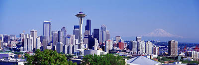 Wa Photograph - Seattle, Washington State, Usa by Panoramic Images