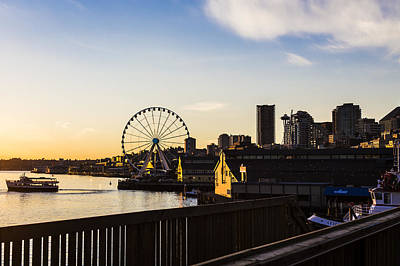 Photograph - Seattle Waterfront by Andrew Pacheco