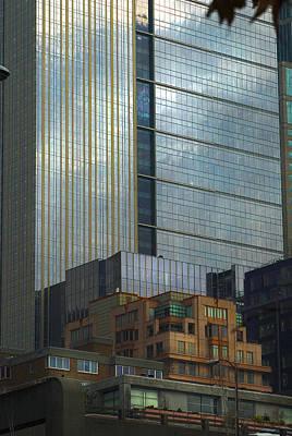 Photograph - Seattle Windows by Yulia Kazansky