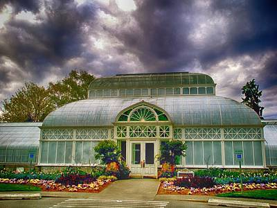 Photograph - Seattle's Conservatory by Kristina Deane