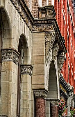 Photograph - Seattle's Historic Maynard Building And Terry Denny Building by Jordan Blackstone