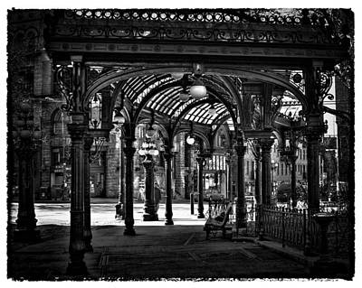 Seattle Photograph - Seattle's Pergola In Pioneer Square by David Patterson