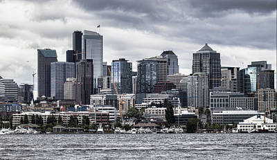 Photograph - Seattle's Skyline by Jeff Swanson