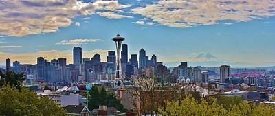 Photograph - Seattle Skyline by Bruce Bley