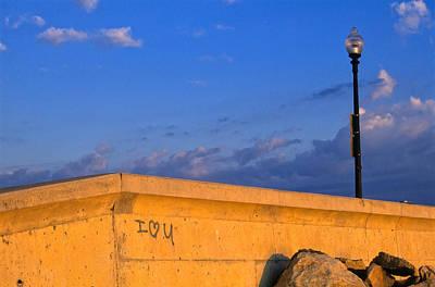 Photograph - Seawall Proclamation by Jeremy Herman