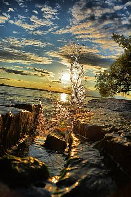 Photograph - Seaway Splash by Emily Stauring