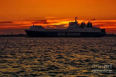 Technical Photograph - Seaways by Svetlana Sewell