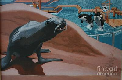 Seaworld Art Print