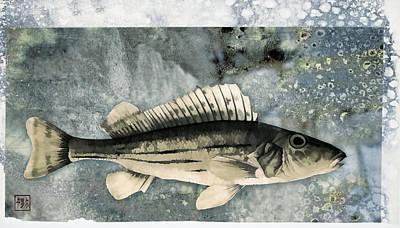 Lake Mixed Media - Seaworthy by Carol Leigh