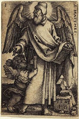 Sebald Beham German, 1500 - 1550, Matthew Art Print