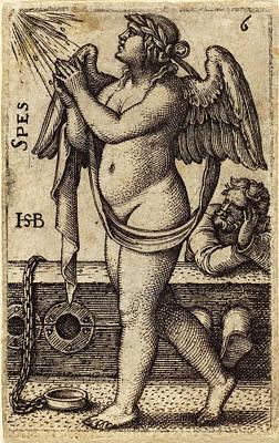 Sebald Beham German, 1500 - 1550, Spes Art Print