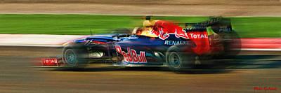 Photograph - Sebastian Vettel by Blake Richards