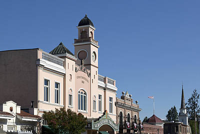 Photograph - Sebastiani Theatre In Sonoma by Carol M Highsmith