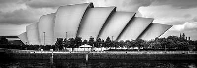 Photograph - Secc Glasgow by Alex Saunders