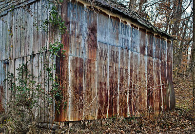 Photograph - Secluded Barn 2013 by Greg Jackson