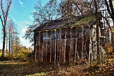 Photograph - Secluded Barn 2013b by Greg Jackson
